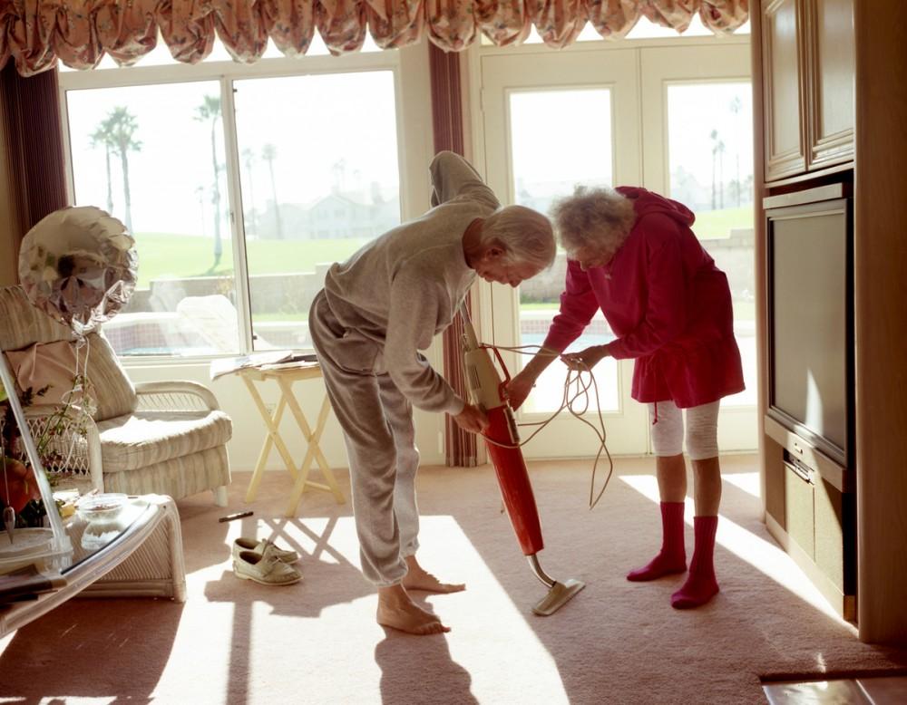 Larry Sultan: Fixing the vacuum, 1991