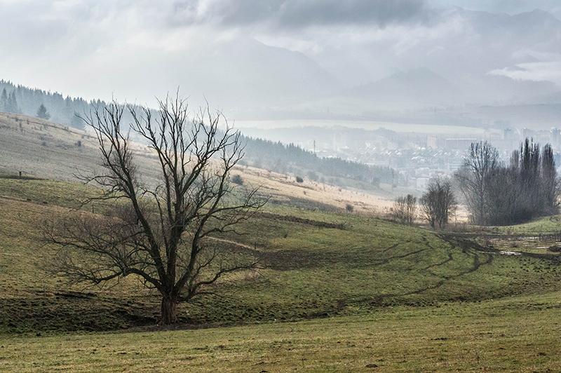 Liptowski Mikułasz krajobraz Słowacja