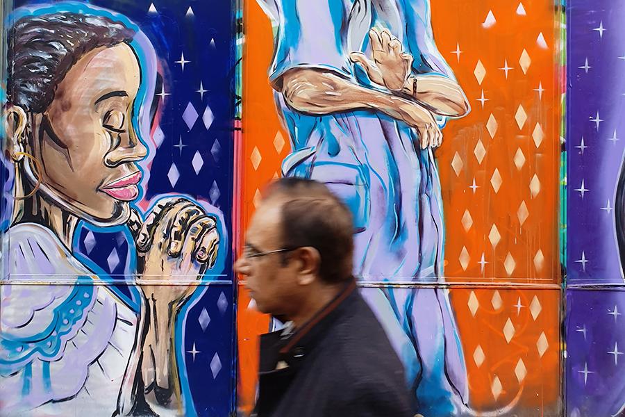 El Raval Barcelona Street art