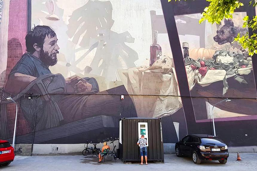 mural Łódź, ul.Sienkiewicza 81, Etam Cru & Robert Proch