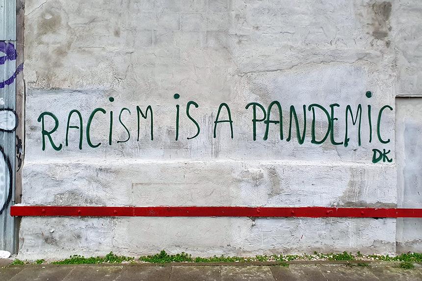 Warszawa Racism is a pandemic