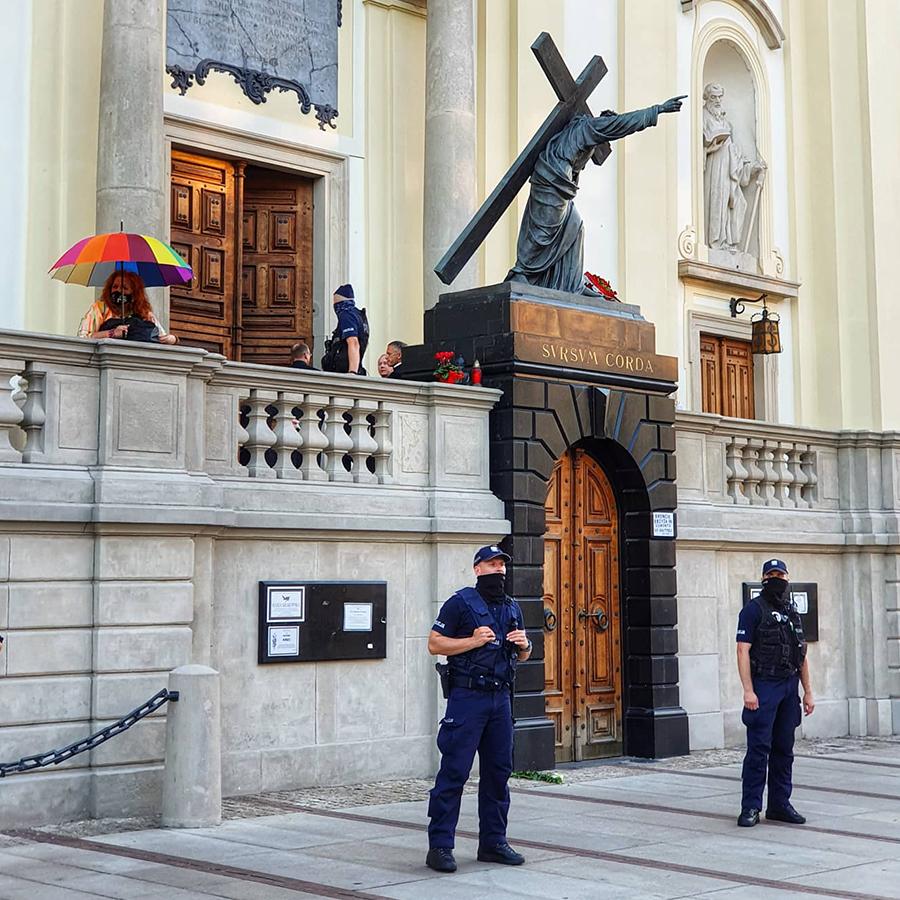 Stop bzdurom na Krakowskim Przedmieściu LGBT