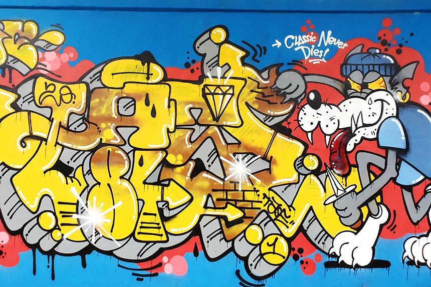 graffiti Classic never dies
