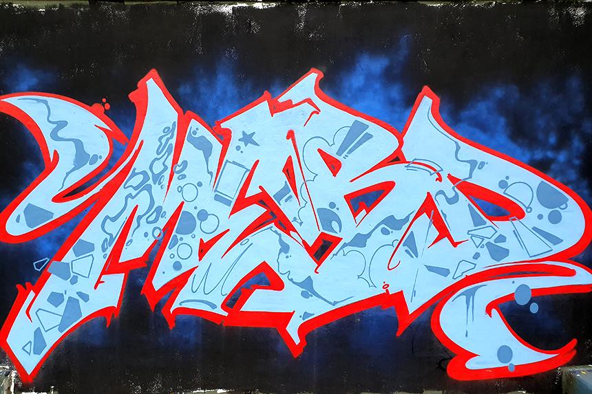 warszawa tor wyścigów konnych graffiti