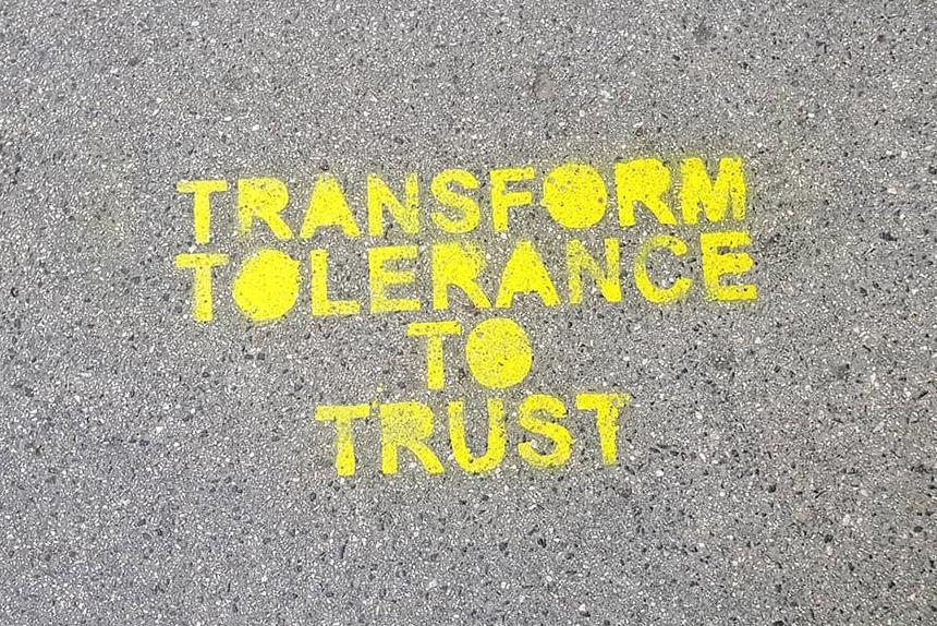 Transform tolerance to trust.