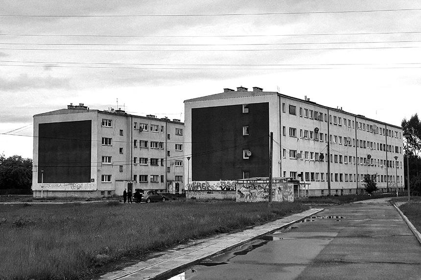 Dudziarska Warszawa - Murale nawiązujące do obrazu Kazimierza Malewicza.