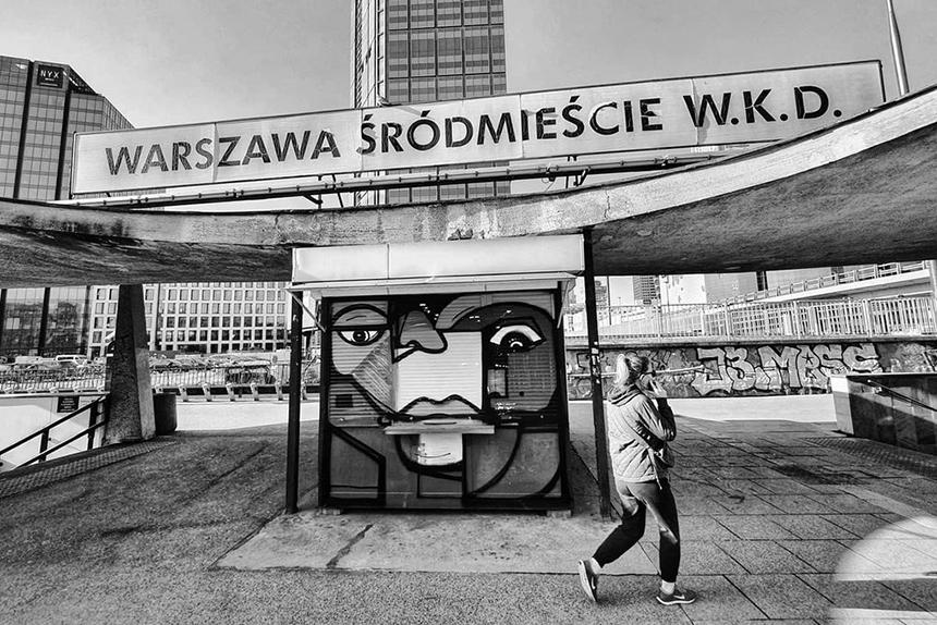 Graffiti Praktis w Warszawa Śródmieście