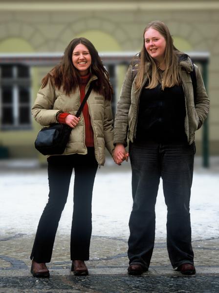 Karolina Breguła: Bez tytułu (z cyklu Niech nas zobaczą), 2003