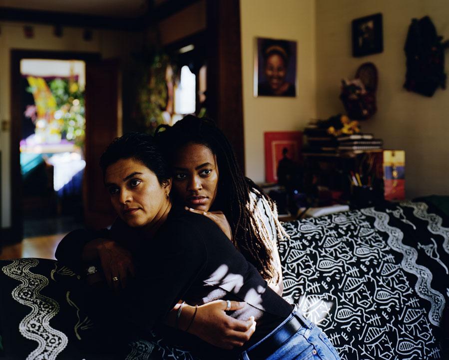 Catherine Opie, Norma & Eyenga, 1998