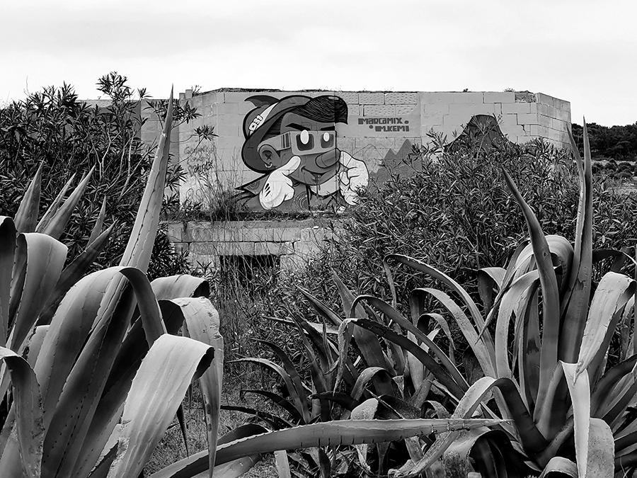 Graffiti i murale na Malcie.